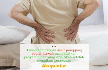 akupunktur mengatasi masalah nyeri punggung