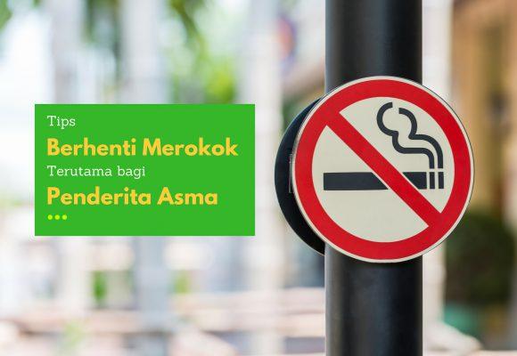Berhenti Merokok Untuk Meredakan Asma