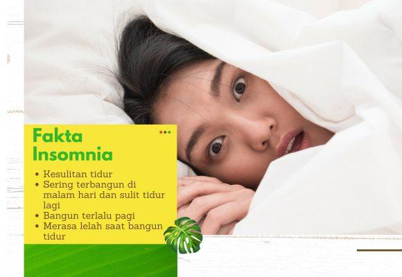 Fakta Insomnia: Penyebab, Gejala, Cara Mengatasi