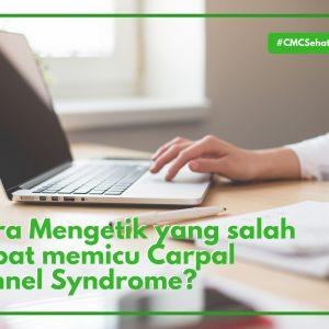 Cara Mencegah Sindrom Carpal Tunnel