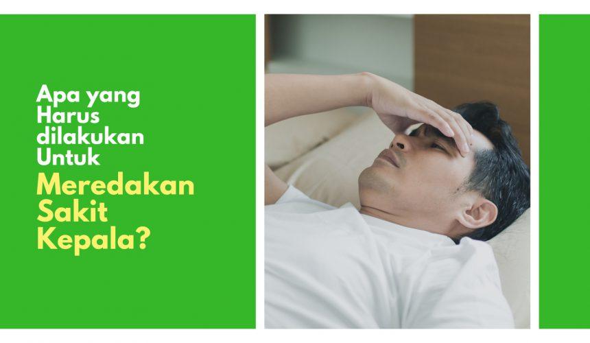10 Cara Hilangkan Sakit Kepala